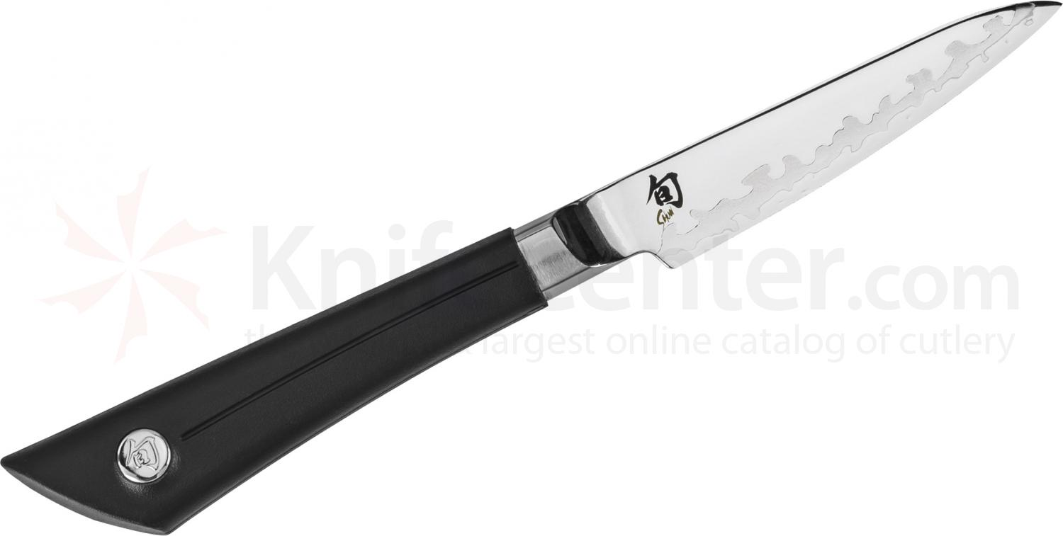 Shun VB0700 Sora Paring Knife 3.5 inch Blade, TPE Polymer Handle