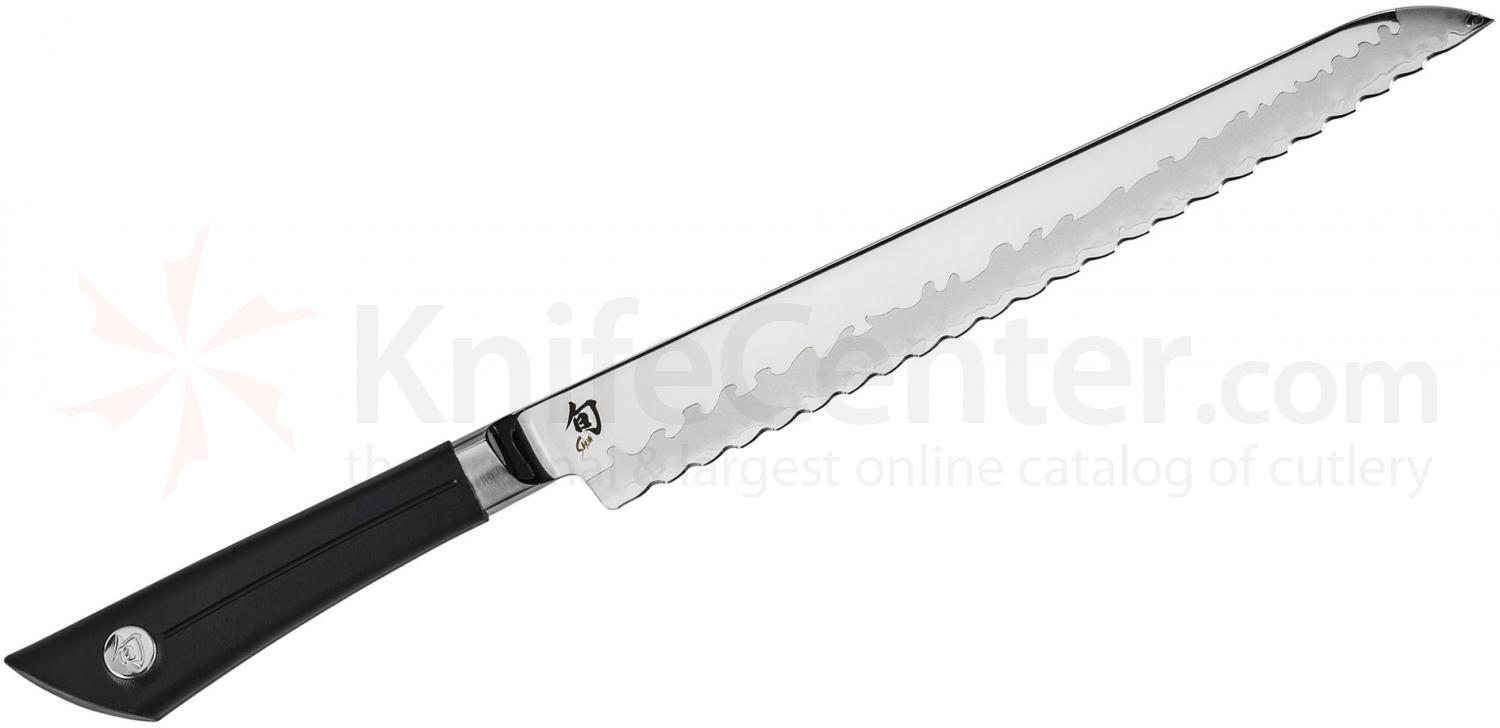 Shun VB0705 Sora Bread Knife 9 inch Blade, TPE Polymer Handle
