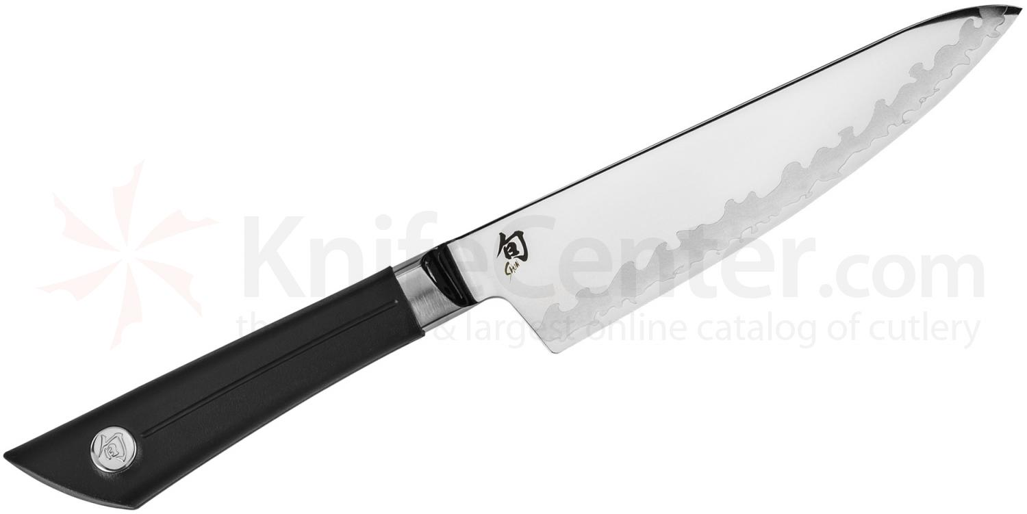 Shun VB0723 Sora Chef's Knife 6 inch Blade, TPE Polymer Handle
