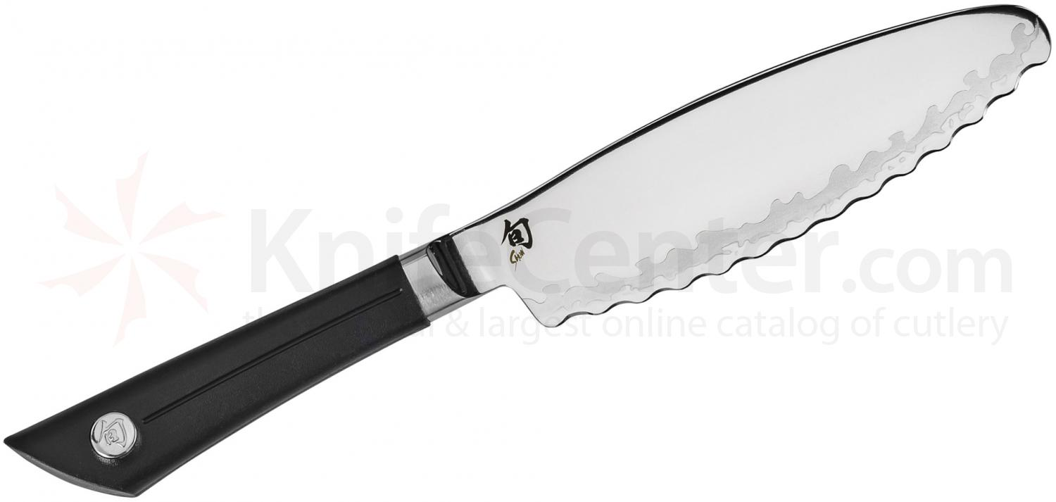 Shun VB0741 Sora Ultimate Utility Knife 6 inch Blade, TPE Polymer Handle