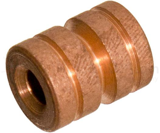 SK Knives Custom Copper Lanyard Bead, 0.875 inch Overall inch