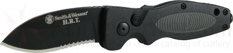 Smith & Wesson AUTO (Medium) H.R.T. 2.8 inch Black Combo Edge Blade