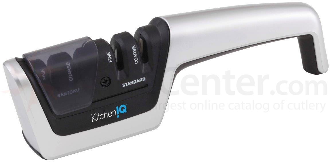KitchenIQ by Smith's 50084 Diamond Elite Pull Thru Sharpener