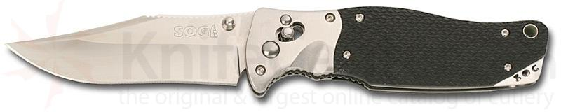 SOG Tomcat III w/Arc Lock Kraton Handle & Nylon Sheath