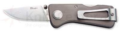 SOG BLINK Money Clip Pocket Knife 2-1/8 inch Stainless Blade Assisted