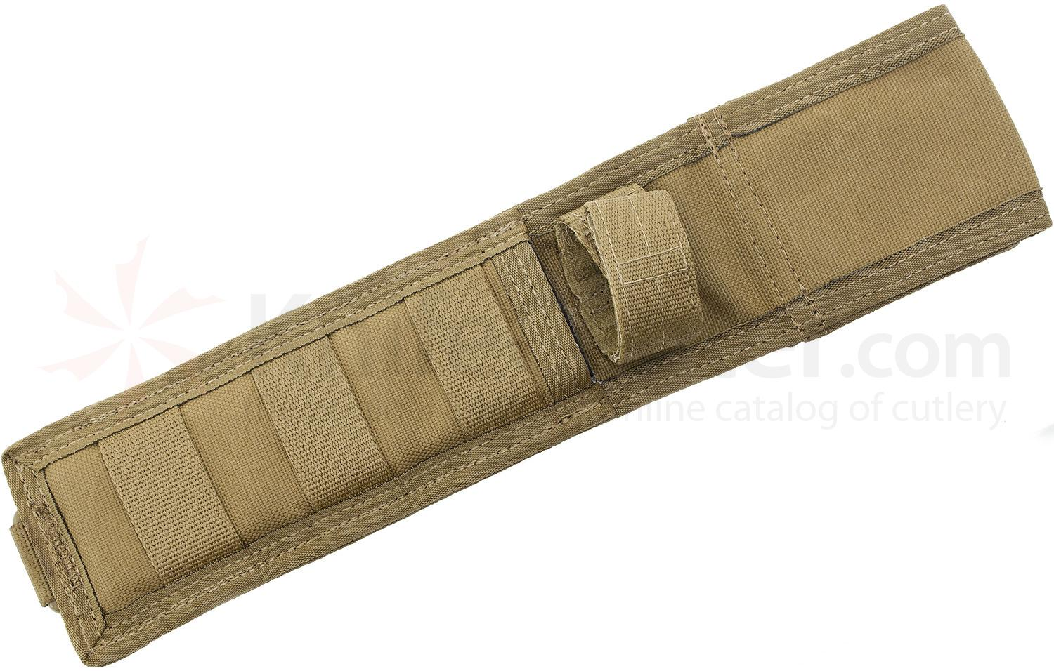 Spartan Blades MOLLE Nylon Sheath, Coyote Tan, Fits Blades Up To 6.3 inch