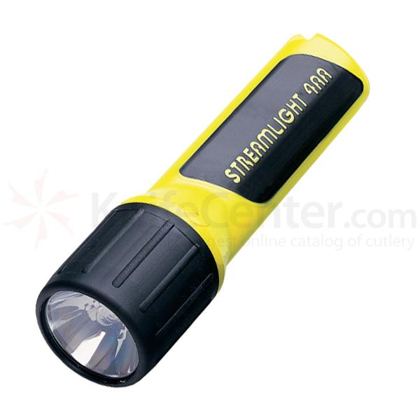 Streamlight 4AA Cell LED Light, Blue LEDs, Yellow Body