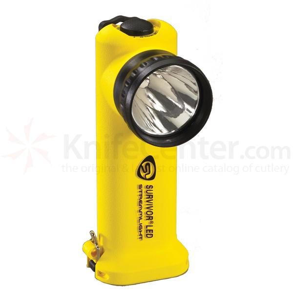 Streamlight Survivor LED, Yellow Body, w/AC/DC Charger
