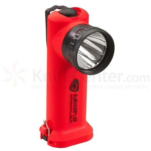 Streamlight Survivor LED Alkaline Model, Orange Body