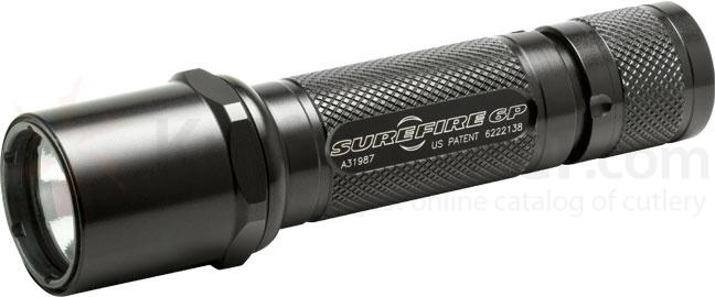 SureFire 6P Original Single-Output Incandescent Flashlight, 65 Lumens