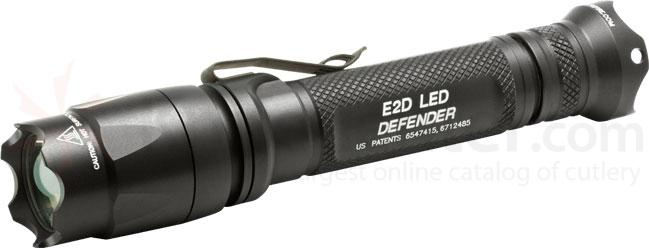 SureFire E2D LED Defender Dual-Output Tactical Flashlight, 200 Max Lumens