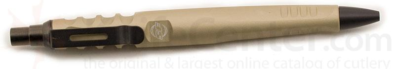 SureFire Pen III Retractable Ink Tip, Tan Body, Tactical
