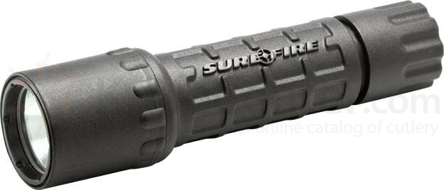 SureFire G2 Nitrolon Single-Output Incandescent Flashlight, Black, 65 Lumens