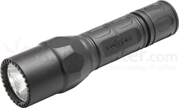 SureFire G2X Tactical Single-Output LED Flashlight, 320 Lumens, Black
