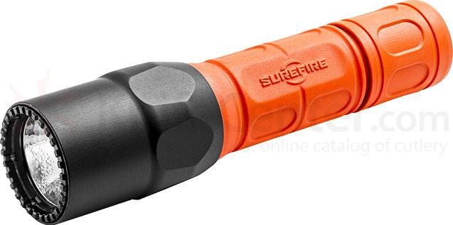 SureFire G2X-D-FOR Fire Rescue Pro Dual-Output LED Flashlight, 320 Max Lumens