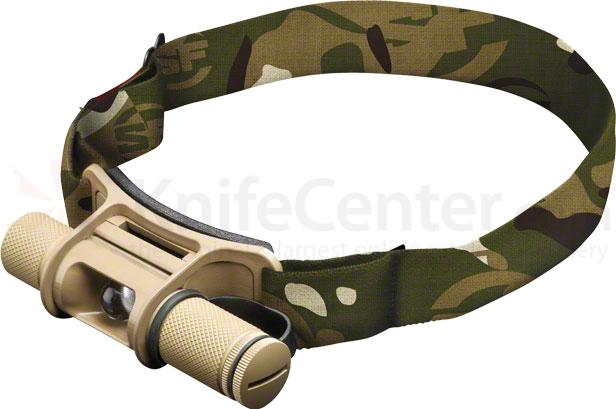 SureFire HS2-A-TN Minimus Tactical Variable-Output LED Headlamp, 100 Max Lumens
