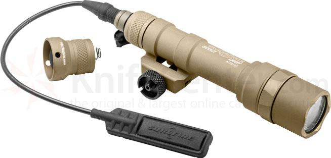 SureFire M600 Ultra Scout Light LED WeaponLight, 500 Lumens, Desert Tan