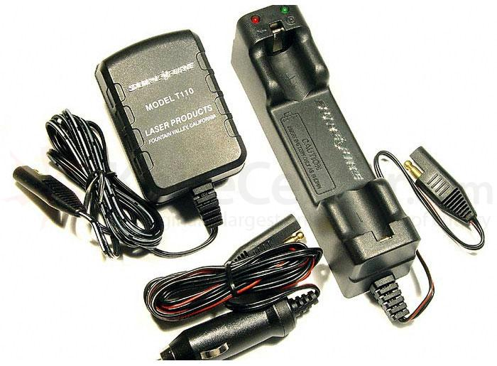 SureFire Rapid AC/DC Charger - Recharges B20 Battery for 10X Dominator