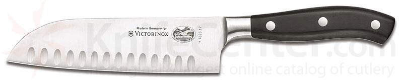 Victorinox Forschner Forged Cutlery Granton Santoku Knife 7 inch Blade in Gift Box