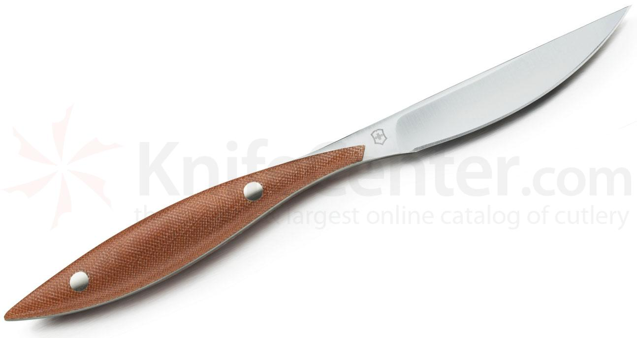 Victorinox Swiss Army Daniel Humm Steak Knife, Micarta Handles (83045.1)