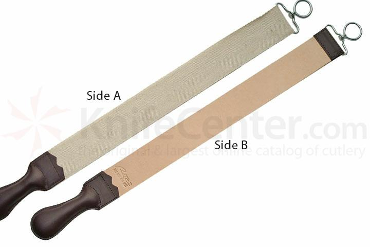 23 inch Leather Razor Strop with Canvas Economy Made Good Quality
