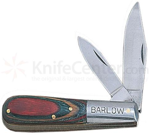 Barlow Pocket Knife with 3.5 inch Colorwood Handle