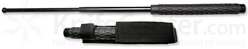 21 inch Solid Steel Expandable Baton with Sheath