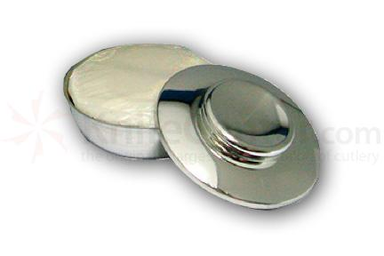 Taylor of Old Bond Street Small Pewter Bowl with Shave Soap
