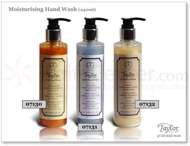 Taylor of Old Bond Street Sandalwood Luxury Moisturizing Hand Wash 8.2 oz (240ml)