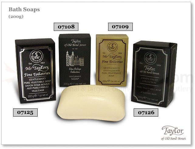 Taylor of Old Bond Street Eton College Collection Gentleman's Bath Soap 7 oz (200g)