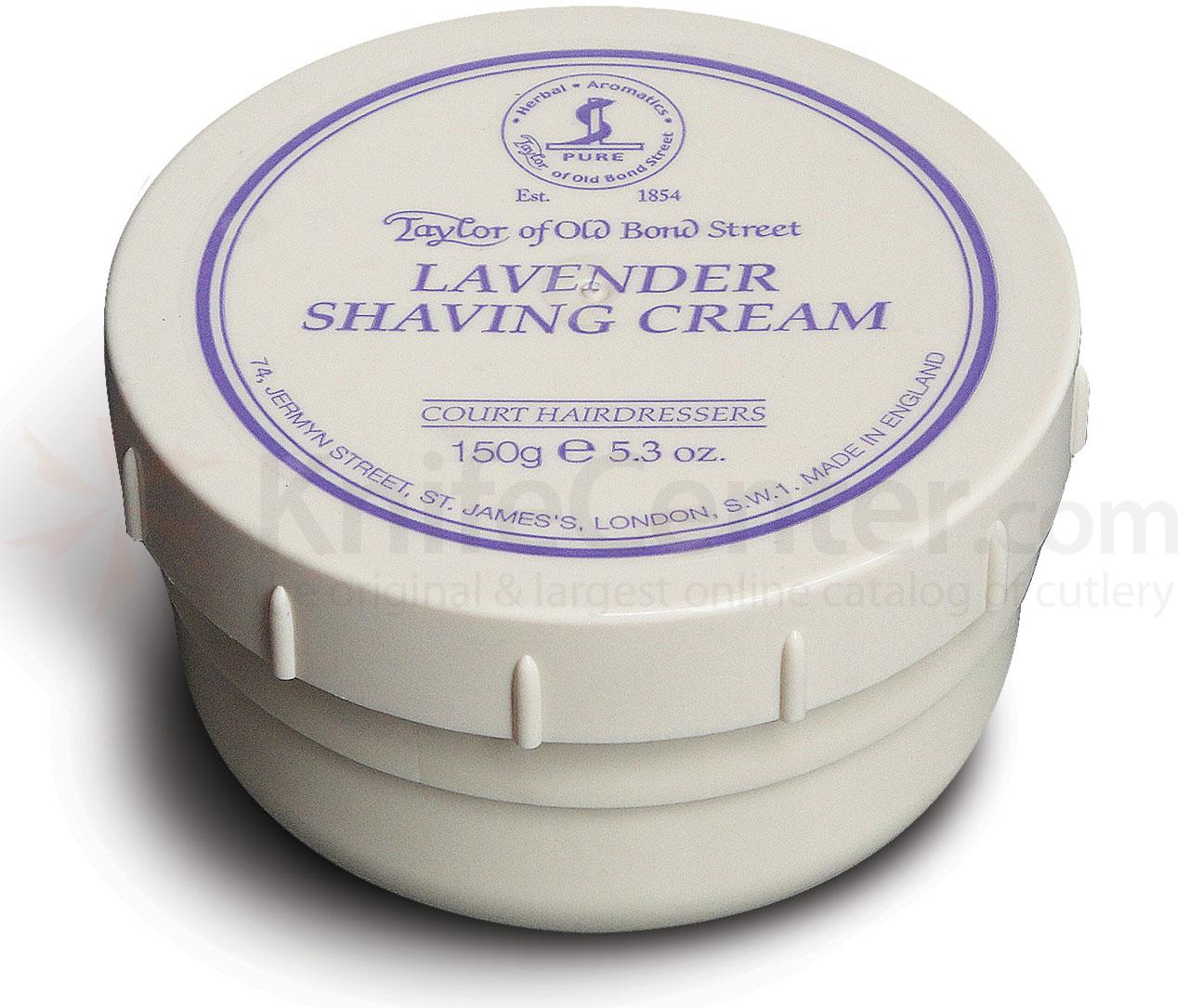 Taylor of Old Bond Street Lavender Shaving Cream 5.3 oz (150g)