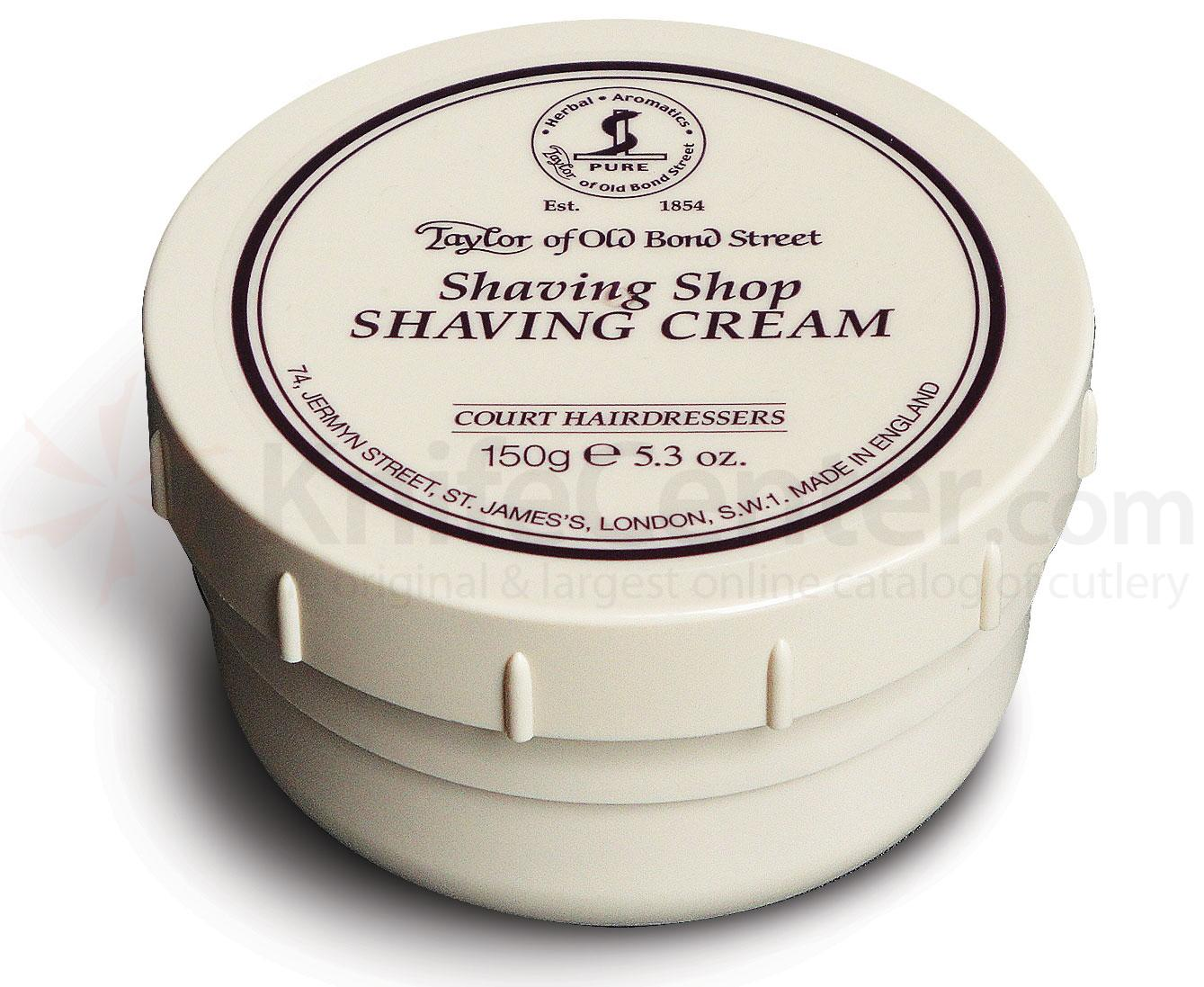 Taylor of Old Bond Street Shaving Shop Shaving Cream 5.3 oz (150g)