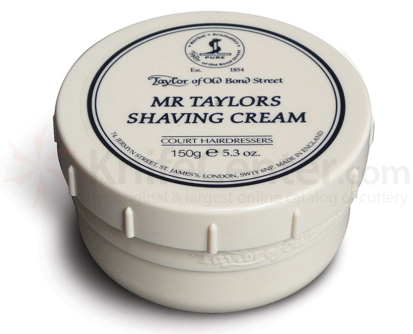 Taylor of Old Bond Street Mr Taylors Shaving Cream 5.3 oz (150g)