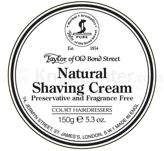 Taylor of Old Bond Street Natural Shaving Cream 5.3 oz (150g)