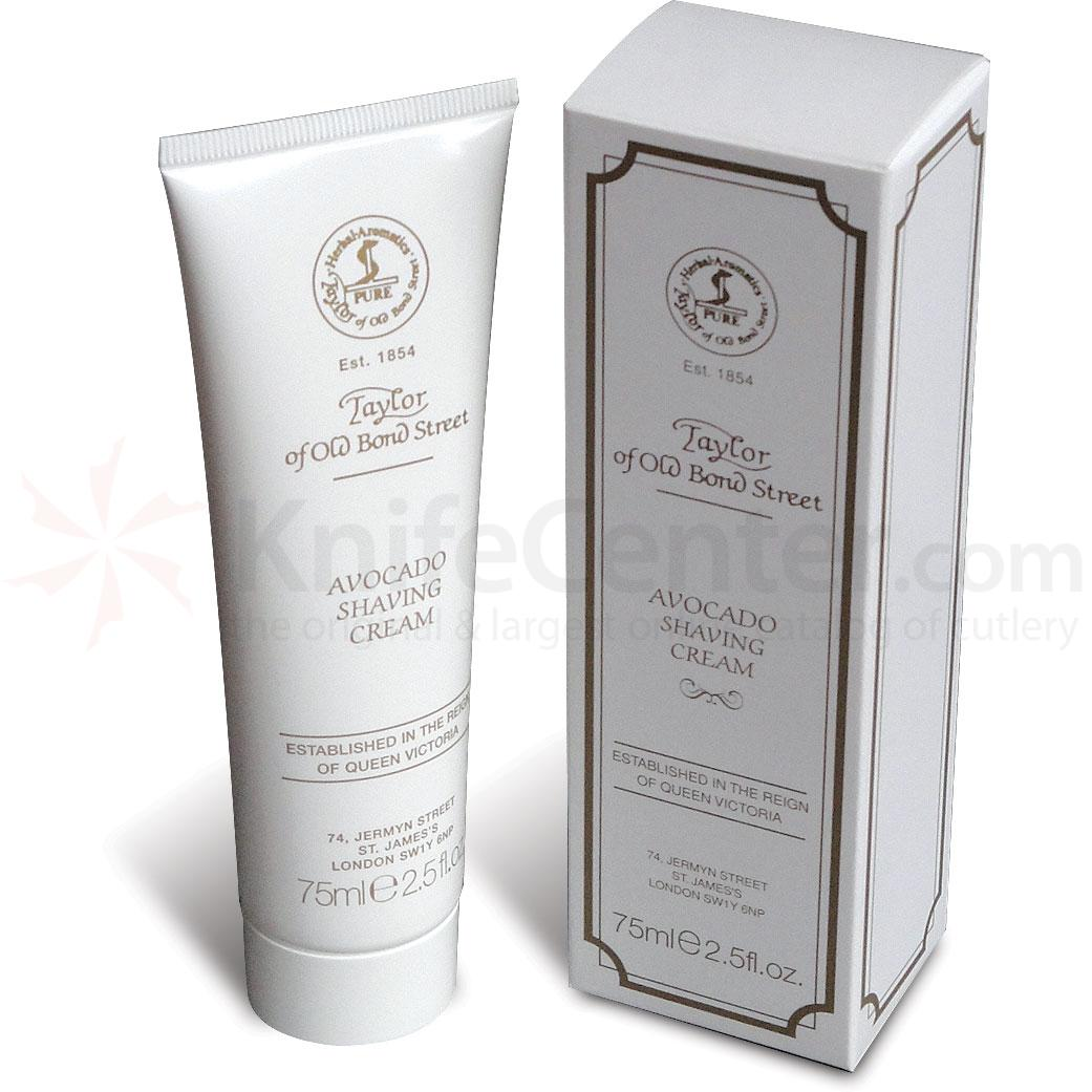 Taylor of Old Bond Street Avacado Shaving Cream 2.5 oz (75ml)