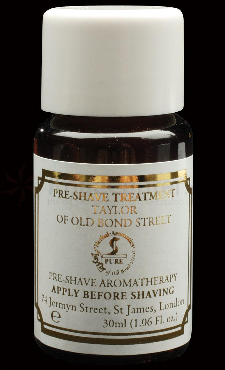 Taylor of Old Bond Street Pre-Shave Aromatherapy Oil 1.06 oz (30g), Ideal for Travel