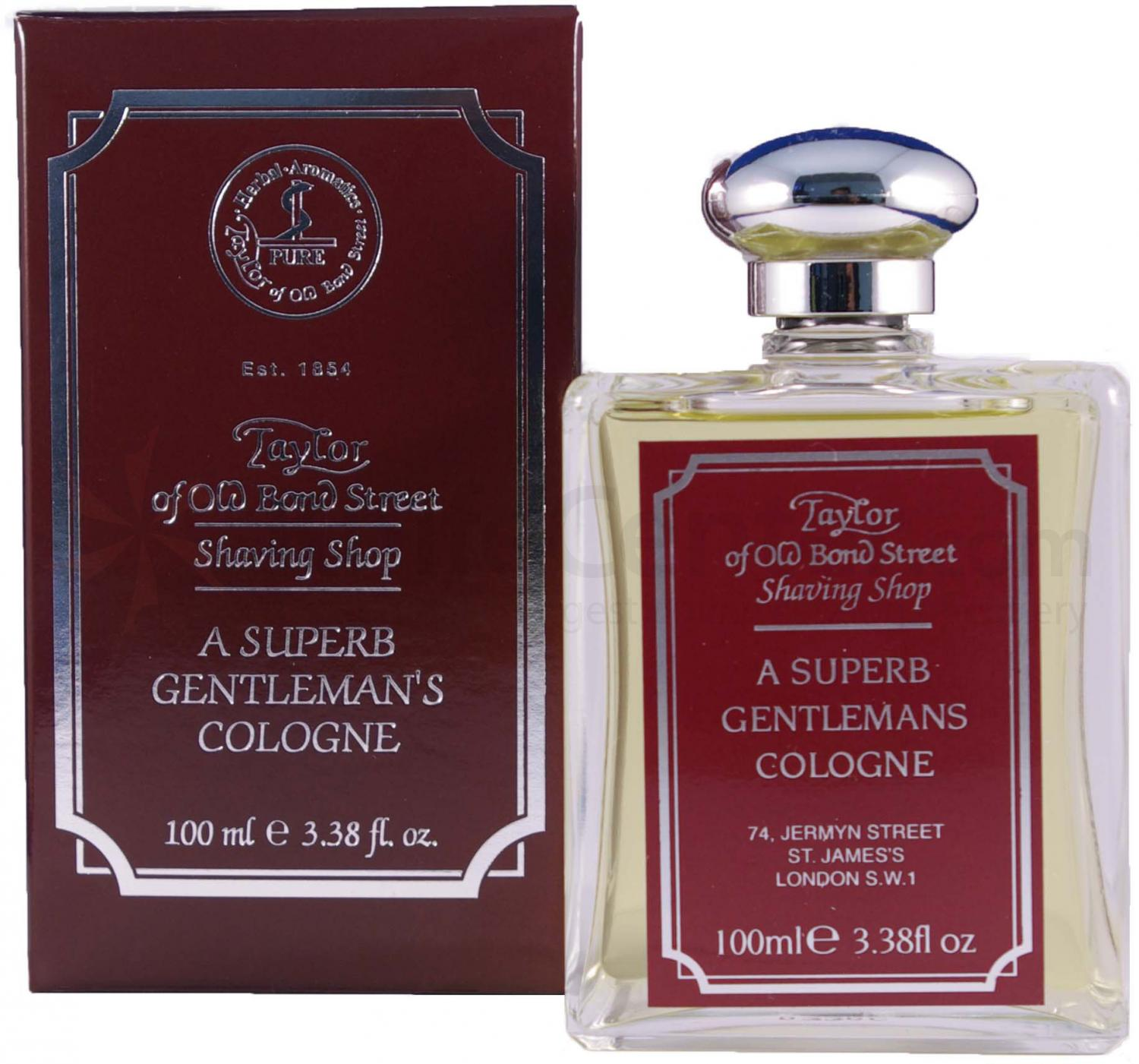 Taylor of Old Bond Street Shaving Shop Gentleman's Aftershave Lotion 3.38 oz (100ml)