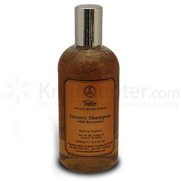 Taylor of Old Bond Street Luxury Shampoo with Rosemary 8.4 oz (250ml)