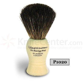 Taylor of Old Bond Street P1020 Pure Badger Shaving Brush, Ideal for Beginners