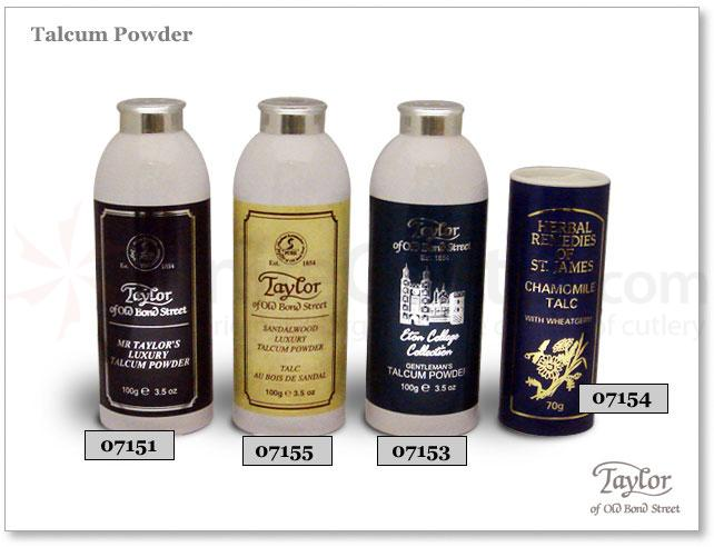 Taylor of Old Bond Street Chamomile Talcum Powder  2.5 oz (70g)