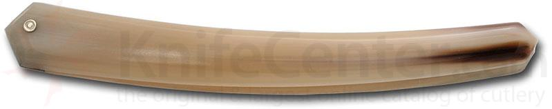 Thiers-Issard Straight Razor Handle in Blond Horn