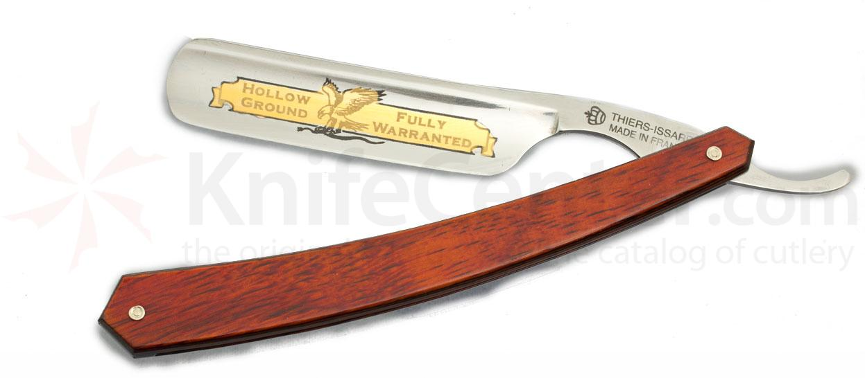 Thiers-Issard Eagle Brand Straight Razor 6/8 inch Blade Red Staminawood Handle France