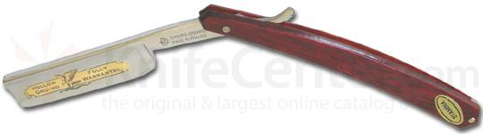 Thiers-Issard Eagle Brand Straight Razor 6/8 inchExtra Wide Blade Red Staminawood Handles France