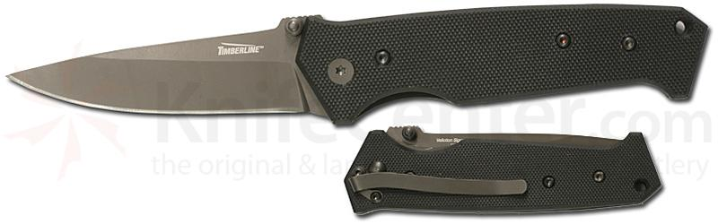 Timberline Vallotton Signature Assisted Large Plain Edge G-10 Handle
