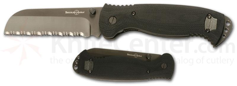 Timberline 18-Delta 3 7/8 inch Rescue Blade Black G-10 Handle