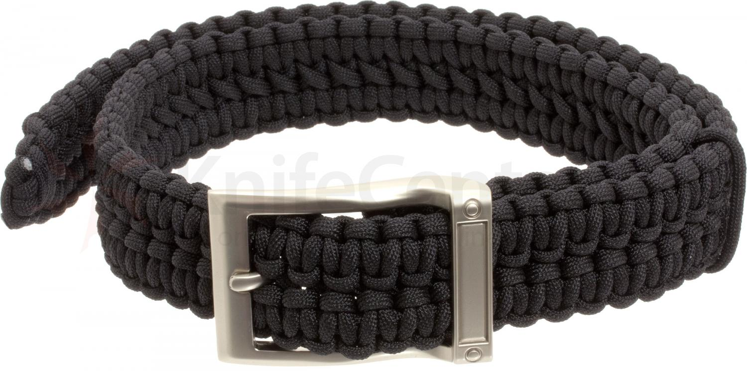 Timberline Paracord Survival Belt, Black, X Large (5104)