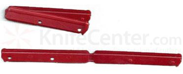 Tondeo Blade Holder for Sifter, Red (for TCR Short, Halved Blades)