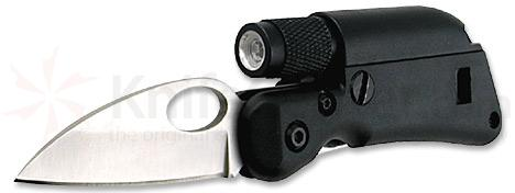 Tool Logic Mini Survival 2 inch Blade Plus LED Light and Whistle