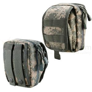T.O.P. Gear Electronics/Utility Pouch Size Small in ACU Digital Camo