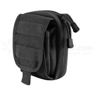 T.O.P. Gear Electronics/Utility Pouch Size Medium in Black